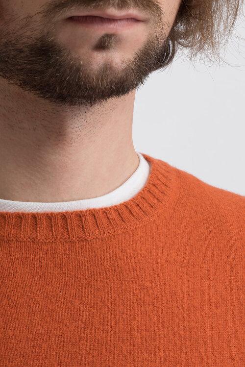 Sweter Oscar Jacobson VALTER 6891_49544_646 pomarańczowy