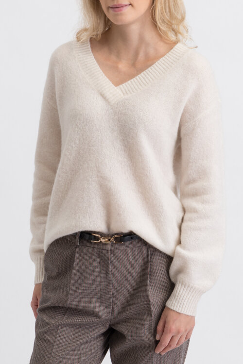 Sweter Hallhuber 0-1920-41752_106 kremowy