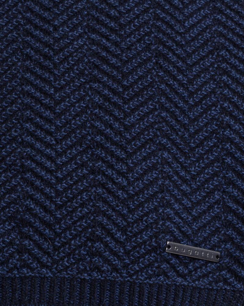 Szal Bugatti 40601_1 6300_340 granatowy - fot:2
