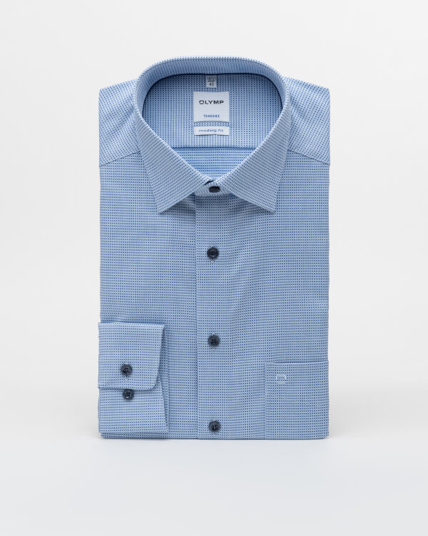 Koszula Olymp 860244_11 niebieski