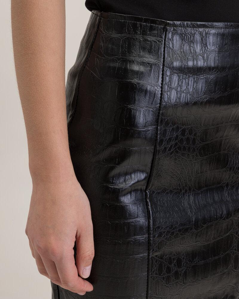 Spódnica Na-Kd 1018-003181_BLACK czarny - fot:2
