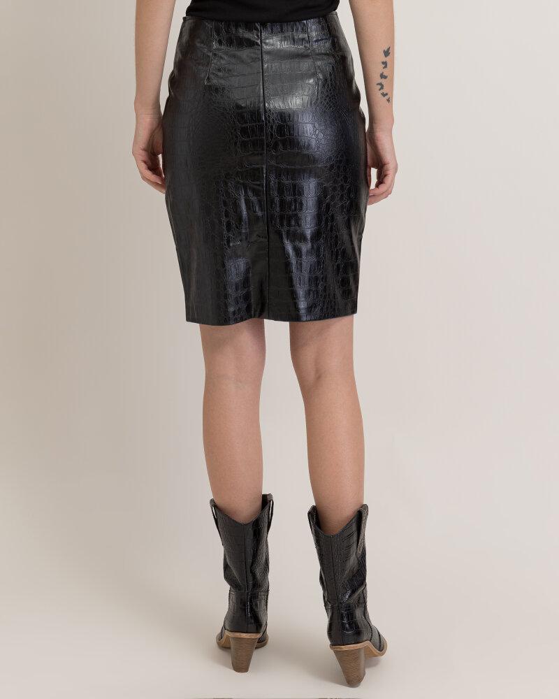 Spódnica Na-Kd 1018-003181_BLACK czarny - fot:3