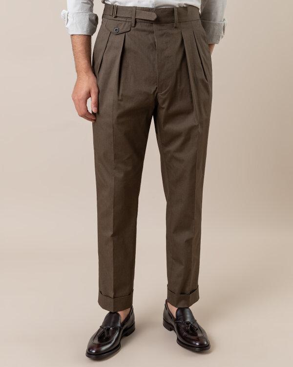 Spodnie Lardini EGLUXOR3_EG52077_230 zielony