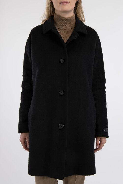 Płaszcz Fraternity JZ19_W-COA-0066_BLACK czarny