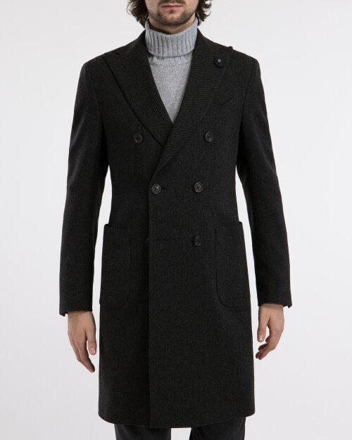 Płaszcz Lardini IG23660AE_5 ciemnoszary