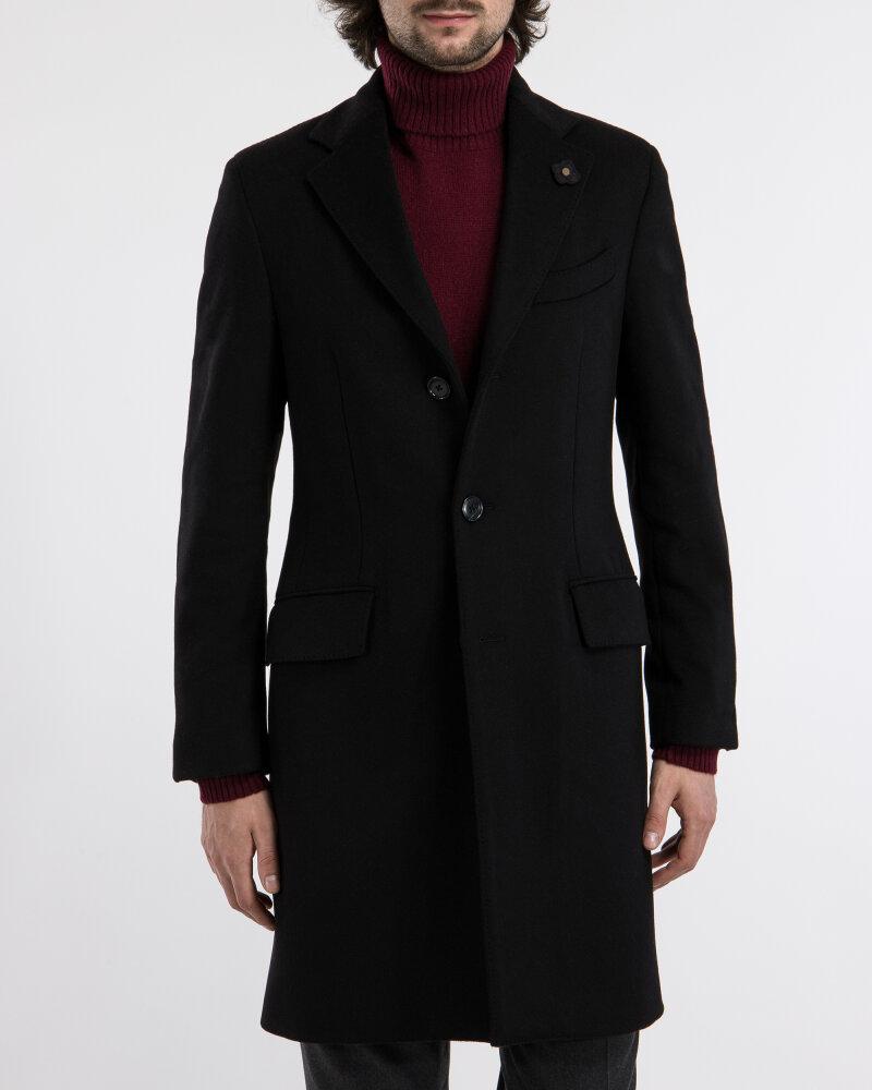 Płaszcz Lardini IG23109AE_4 czarny - fot:1