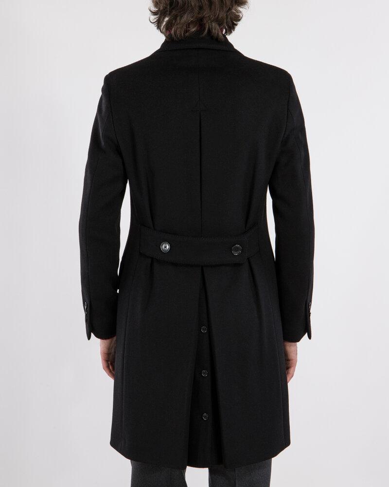 Płaszcz Lardini IG23109AE_4 czarny - fot:3