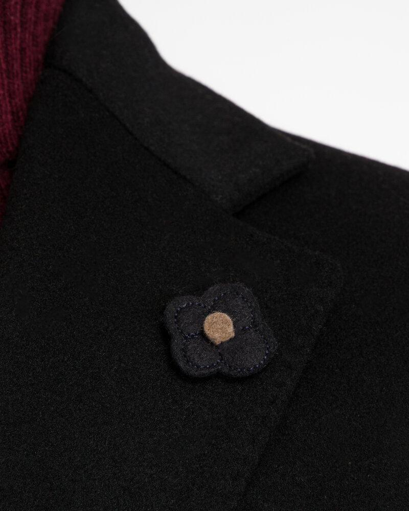 Płaszcz Lardini IG23109AE_4 czarny - fot:4