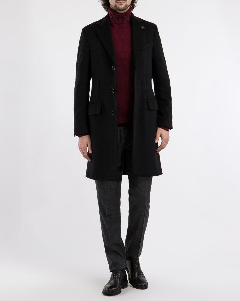 Płaszcz Lardini IG23109AE_4 czarny - fot:11