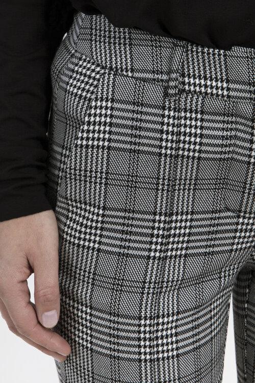 Spodnie Fraternity JZ19_W-TRO-0073_BLACK CHECK czarny