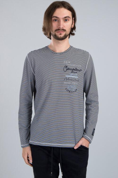 T-Shirt Campione 4097046_111125_85441 granatowy