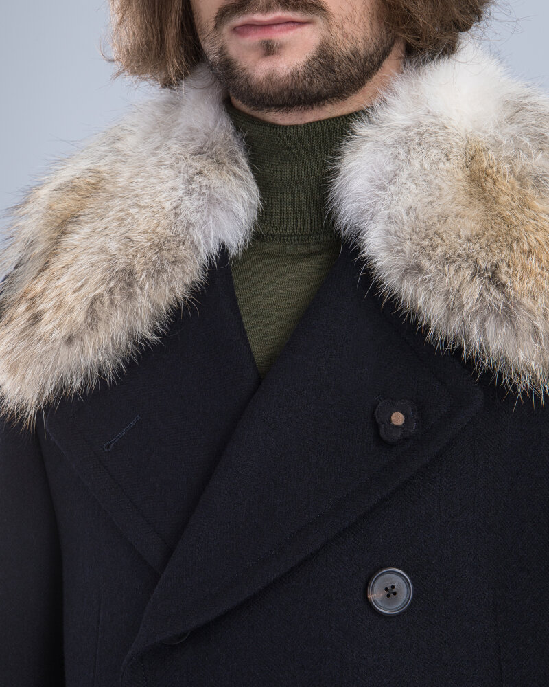 Płaszcz Lardini IG23672_154 czarny - fot:2