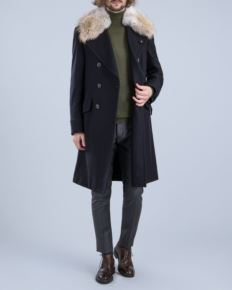 Płaszcz Lardini IG23672_154 czarny - fot:8