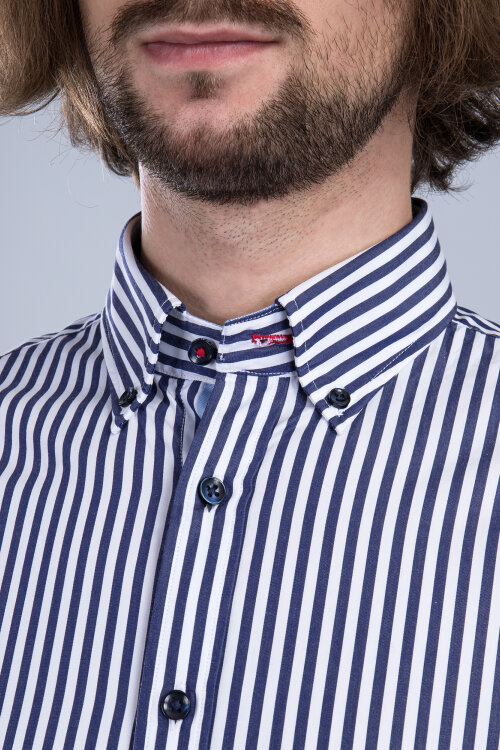 Koszula Fynch-Hatton 11206020_6023 granatowy