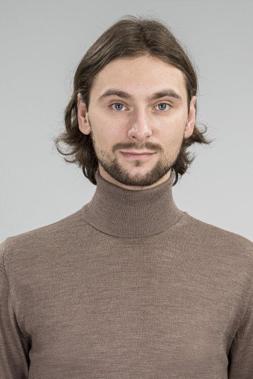 Sweter Daniele Fiesoli DF0025_36 brązowy