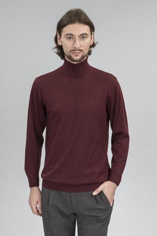 Sweter Daniele Fiesoli DF0025_57 bordowy