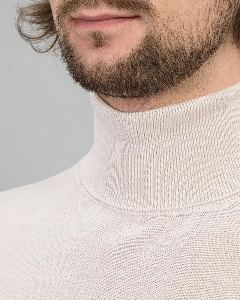 Sweter Daniele Fiesoli DF0040B_1 beżowy - fot:2