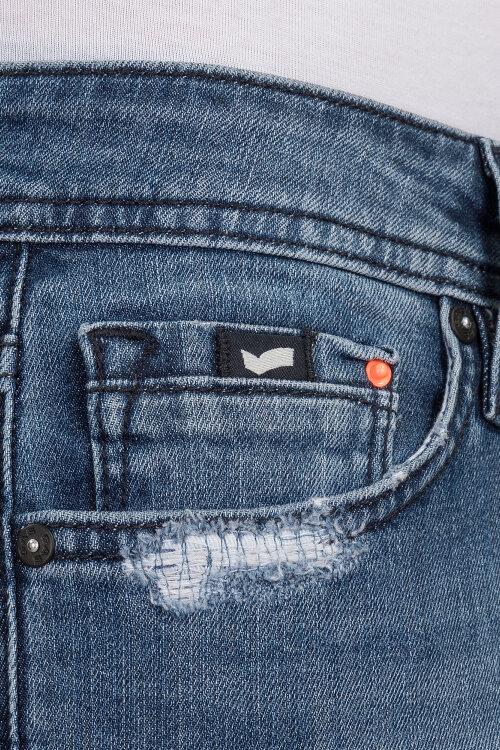 Spodnie Gas 71865_SAX ZIP_WN75 niebieski