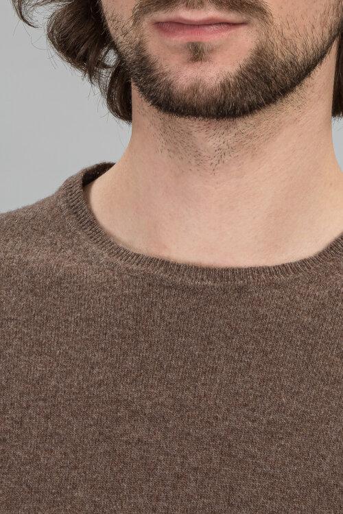 Sweter Daniele Fiesoli DF0030_37 brązowy