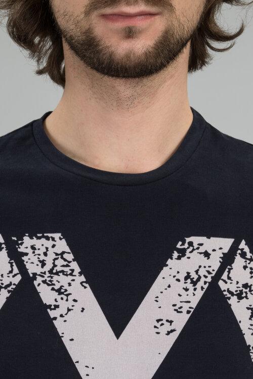 T-Shirt Mexx 53633_318684 granatowy