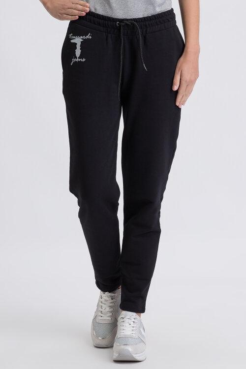 Spodnie Trussardi Jeans 56P00160_1T002268_K299 czarny