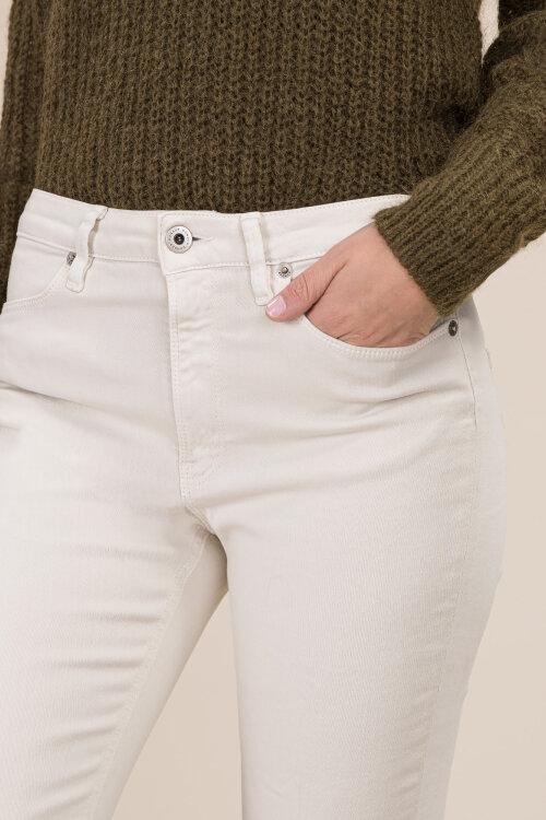 Spodnie Dondup DP450_BS0013D_045 kremowy