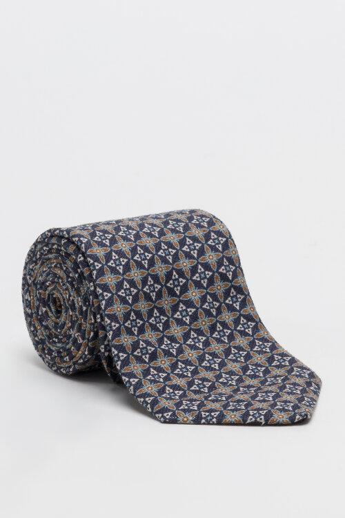 Krawat Stenstroms 913169_001 granatowy