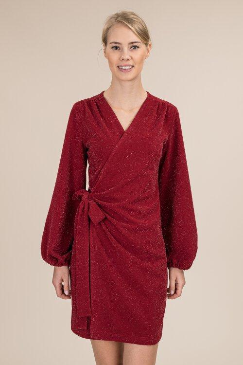 Sukienka Fraternity JZ19_W-DRE-0440_WINE bordowy