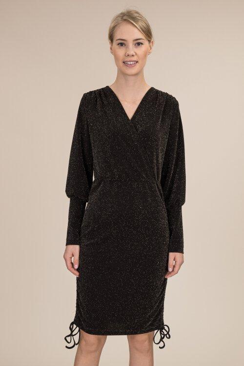 Sukienka Fraternity JZ19_W-DRE-0447_BLACK czarny