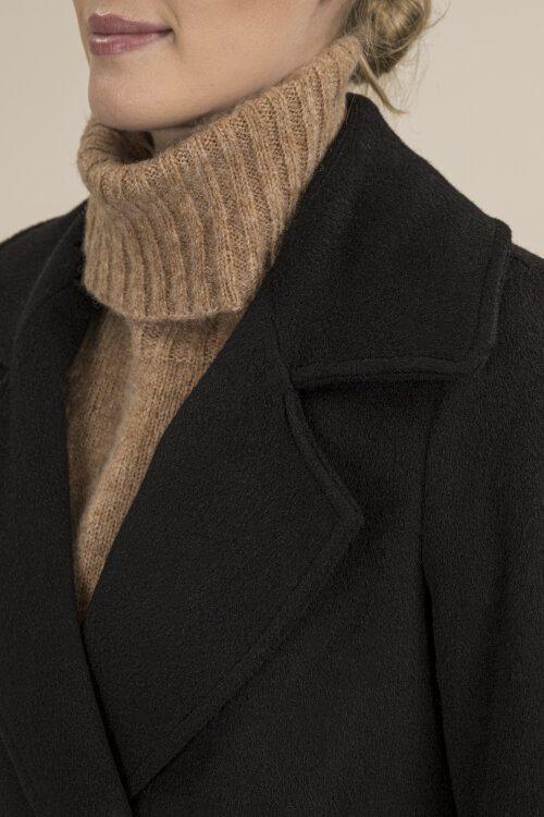 Płaszcz Fraternity JZ19_W-COA-0054_BLACK/1 czarny