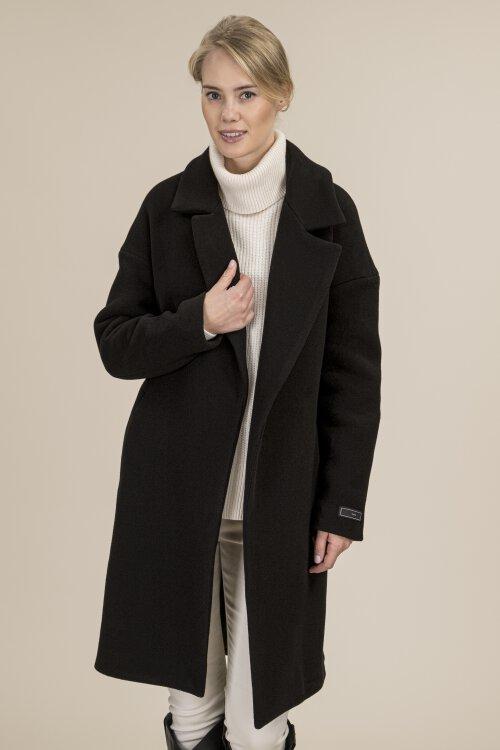 Płaszcz Fraternity JZ19_W-COA-0086 _BLACK/1 czarny