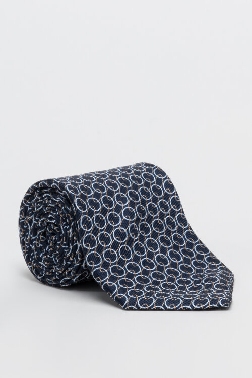 Krawat Stenstroms 913177_007 granatowy