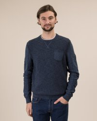Sweter Lerros 29O5041_458 niebieski- fot-0