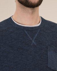 Sweter Lerros 29O5041_458 niebieski- fot-1