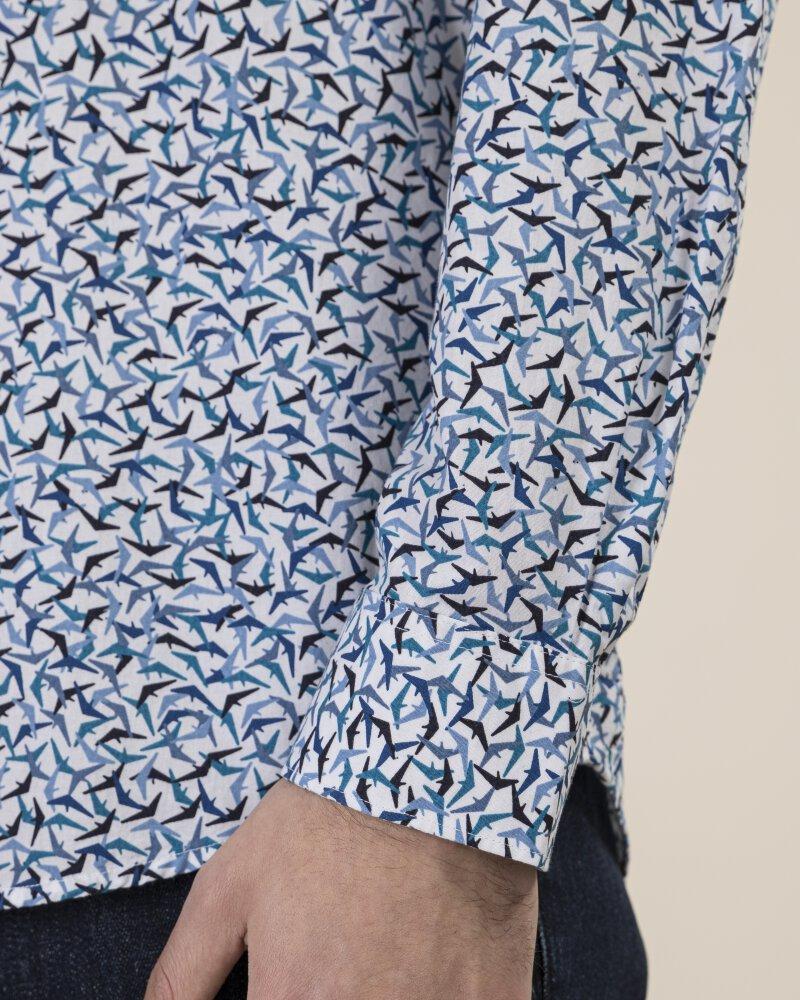 Koszula Lerros 29N1191_455 niebieski - fot:6
