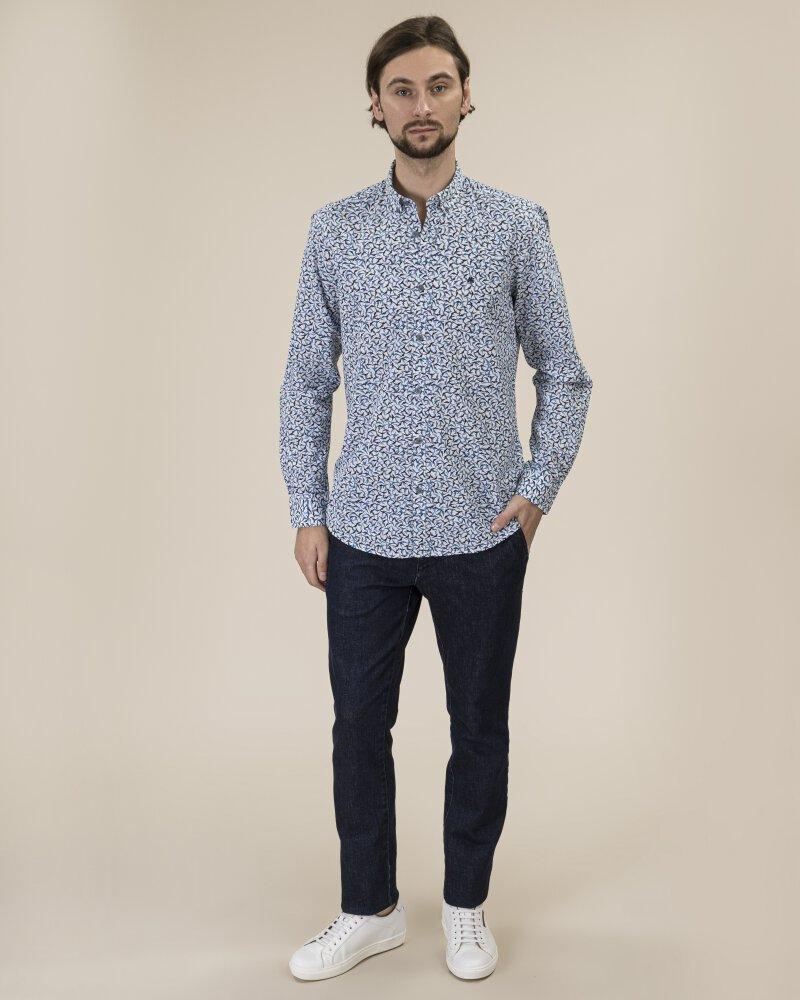 Koszula Lerros 29N1191_455 niebieski - fot:9