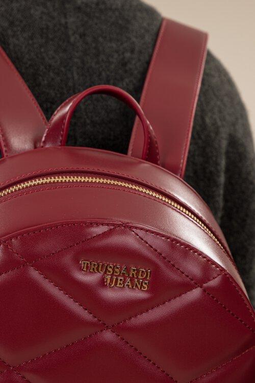 Torba Trussardi Jeans 75B00665_9Y099994_R245 bordowy