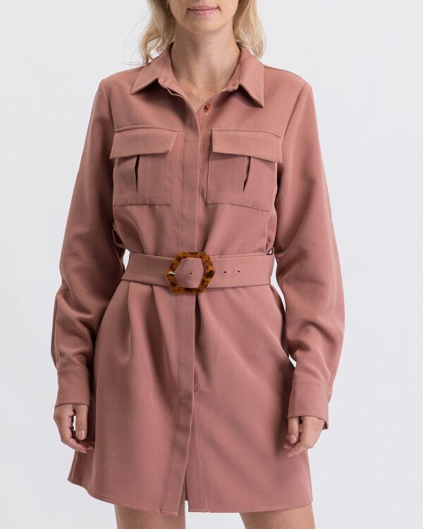 Sukienka Na-Kd 1594-000081_DUSTY DARK różowy