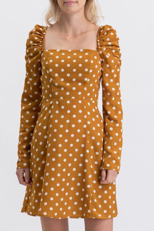 Sukienka Na-Kd 1100-001883_MUSTARD biały