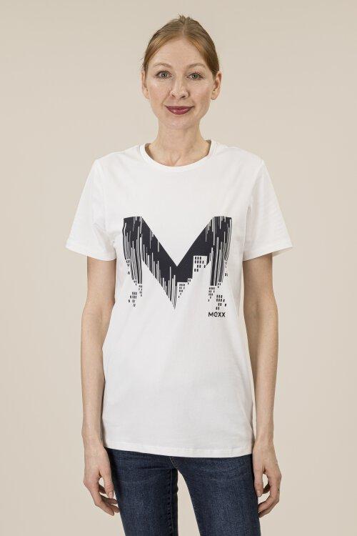 T-Shirt Mexx 53631_114800 biały