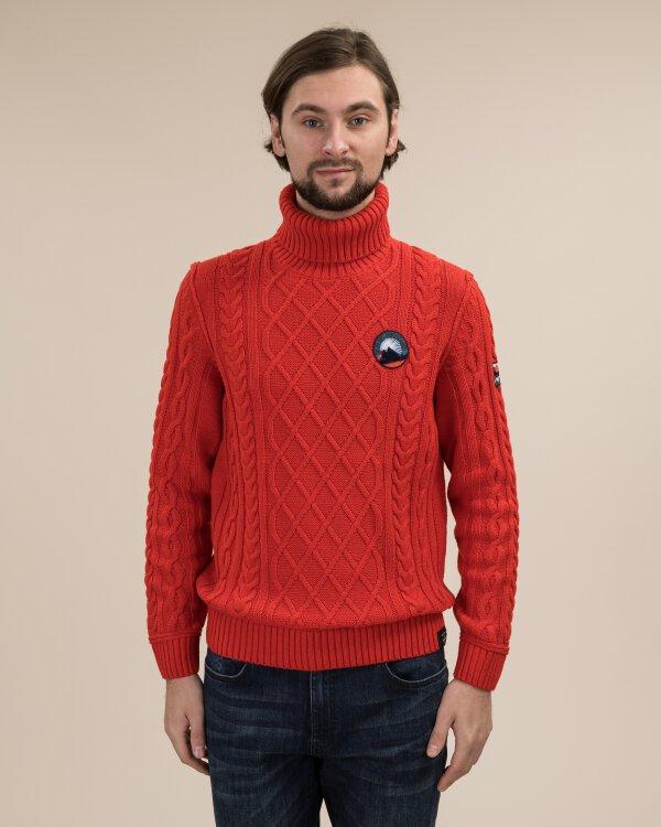 Sweter Lerros 29O5755_342 czerwony