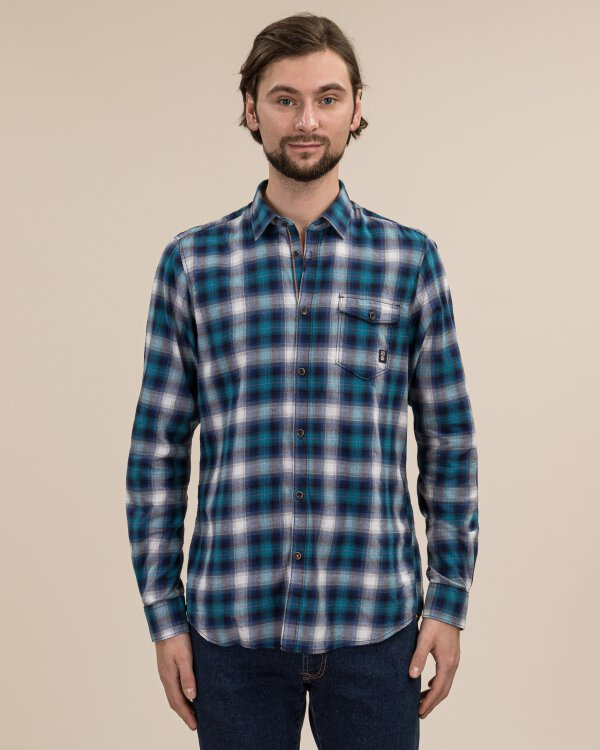 Koszula Lerros 29O1080_483 niebieski