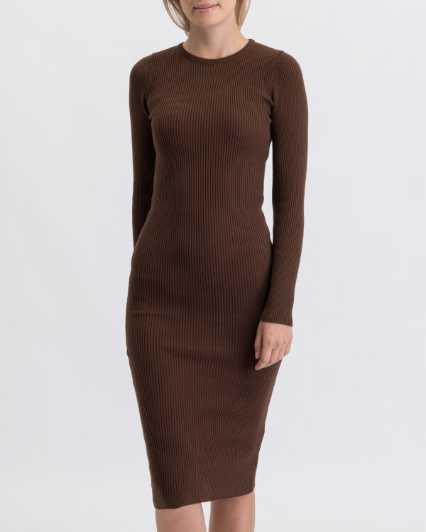 Sukienka Na-Kd 1018-003746_BROWN brązowy