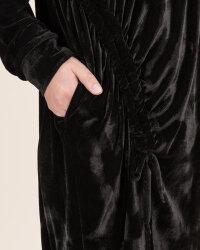 Sukienka Fraternity JZ19_W-DRE-0445_BLACK czarny- fot-4