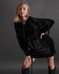 Sukienka Fraternity JZ19_W-DRE-0445_BLACK czarny- fot-1