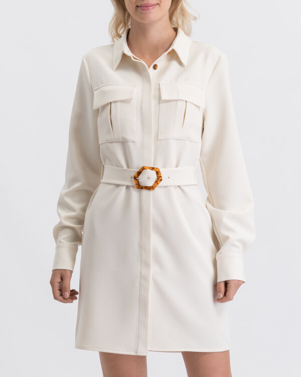Sukienka Na-Kd 1594-000081_CREAM kremowy