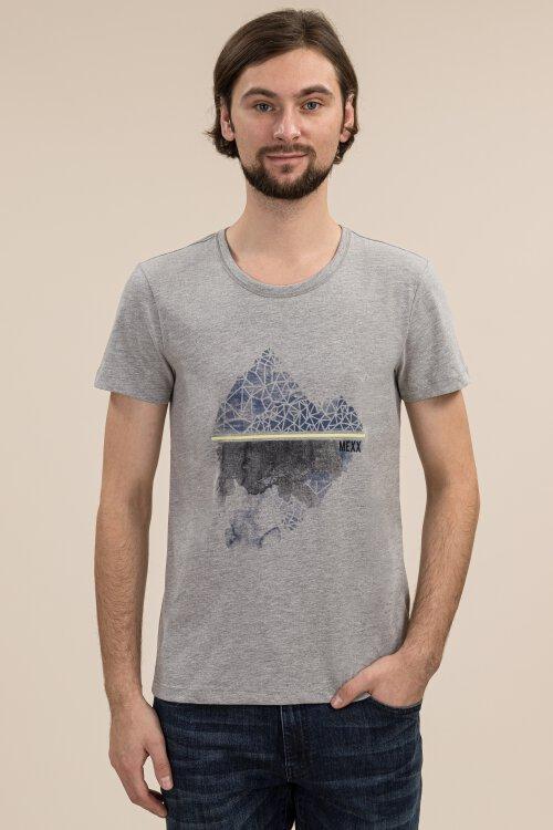 T-Shirt Mexx 53605_300097 szary