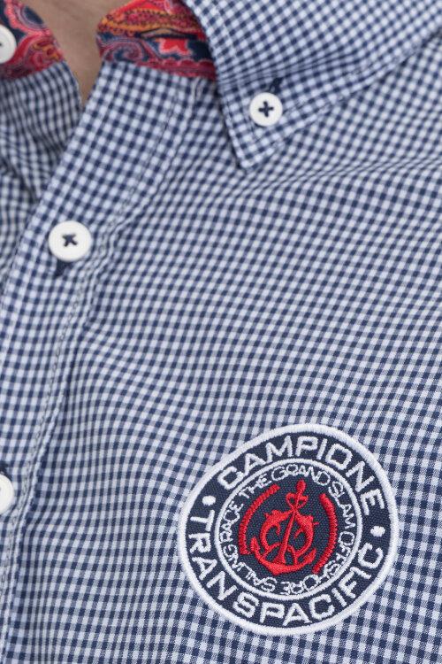 Koszula Campione 2197015_111230_85421 granatowy