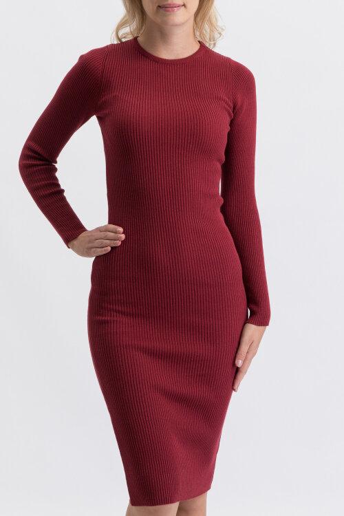 Sukienka Na-Kd 1018-003746_BURGUND czerwony