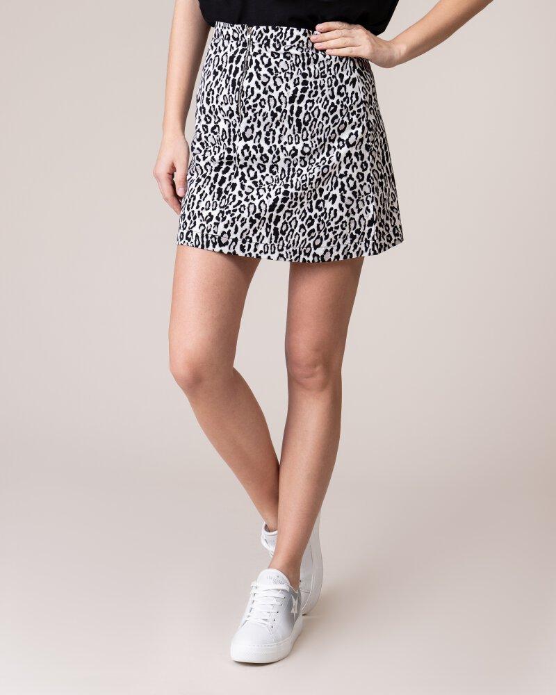 Spódnica Na-Kd 1018-002841_BLACK&WHITE LEO biały - fot:1